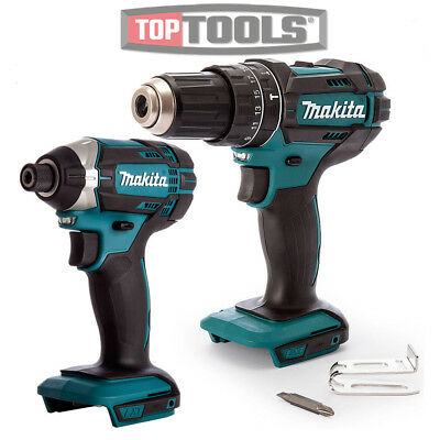 Makita DHP453Z Combi Drill With DTD152Z 18v Impact Driver Twin Pack