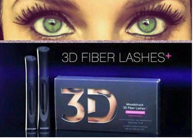 Younique Moodstruck 3D + Plus Lashes Fiber Fibre Mascara Makeup Brand New