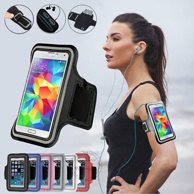 Sport Running Armband Exercise Arm Band Pouch For Samsung Galaxy S9 Plus NOTE 8