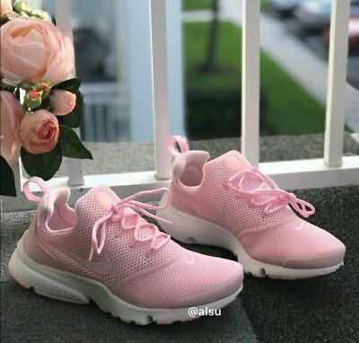 sale retailer 61abb 27971 8.5 WOMEN'S NIKE Presto Fly Running Shoes Multicolor Pink Casual White  Classic