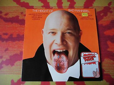 ♫♫♫ The Height of Bad Manners * Vinyl LP ♫♫♫