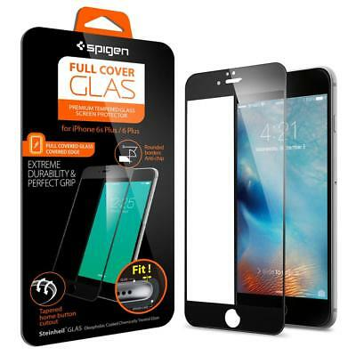 Spigen Tempered 9H Full Cover Glass Screen Protector For Apple iPhone 6 6s Plus