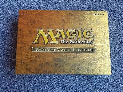 Magic the Gathering From the Vault Legends MTG new sealed