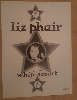Full page liz phair magazine print ad for album whoops smart Approx 23cm x 29cm
