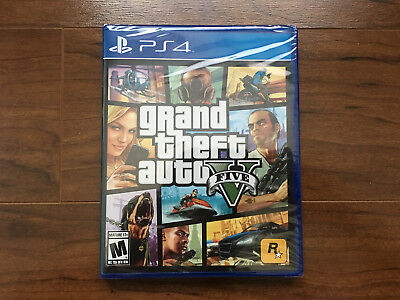 🔥Grand Theft Auto V _ GTA 5 - PlayStation 4 PS4🔥[US version/Factory Sealed]