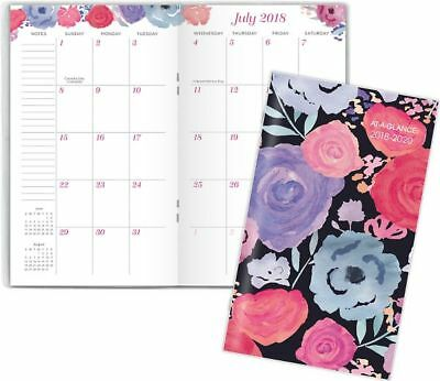 at a glance badge academic 2 year monthly pocket planner academic