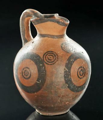 Miniature Cypriot Pottery Oinochoe, ex-Royal Athena Lot 17A