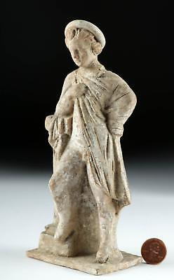 Hellenistic Greek Terracotta Figure of a Boy Lot 38B