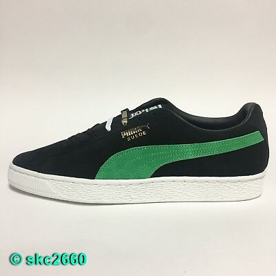 huge selection of 73993 27640 PUMA SUEDE CLASSIC Xlarge 8-12 Black Kelly Green 366307-01. Clyde
