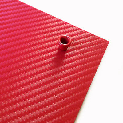 "Kydex carbon .080"" (2mm) EMT Red / Rouge"