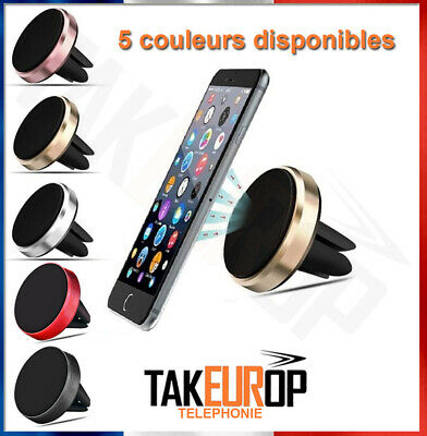 Support Magnetique  Porte Telephone Voiture Smartphone Gps Phone Mp3