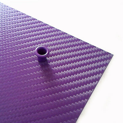 "Kydex carbon .080"" (2mm) Purple Haze / Violet"