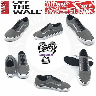 VANS Old Skool Suede Snake Frost Gray Silver M10 9f5e96940