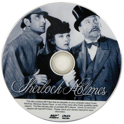SHERLOCK HOLMES OLD Time Radio Shows Mp3 Cd Classics - $7 99 | PicClick