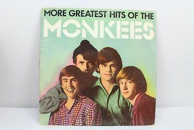 More Greatest Hits of the Monkees Vintage Vinyl Record 1982 LP