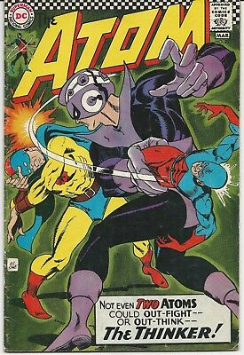 The Atom #29; Fine-; 5.5; 1st G.A. Atom in Silver Age!; 1967; Gil Kane