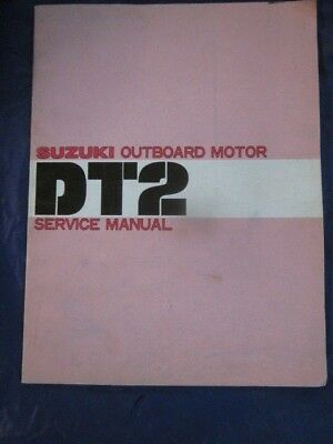 Suzuki Outboard Motor Service Manual DT2 OEM Genuine