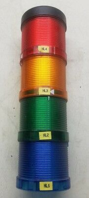 Siemens Tower Light Stack  Green, Blue, Amber, Red,