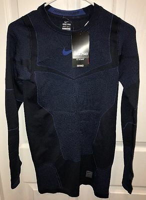 2dbcba131f5b  150 NEW MEN S NIKE PRO HYPERWARM MAX COMPRESSION SHIRT Men Large 700873-010