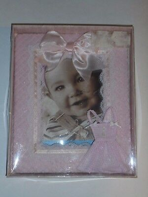 Sicura Kids Beautiful Pink  4 X 6 Baby Photo Frame