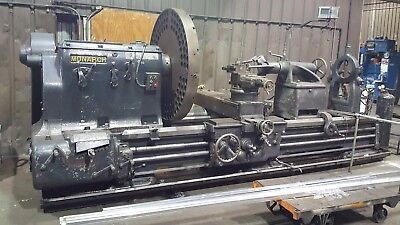 "Monarch Lathe 32NN heavy duty 60"" x 108"" with steady rest,  tooling, 4 jaw chuck"