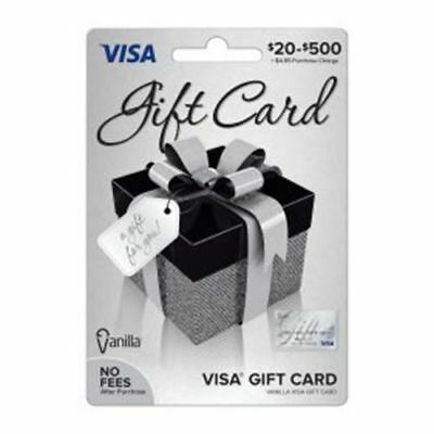 $200 VISA CARD ready to use activated gift no fees FREE SHIPPING