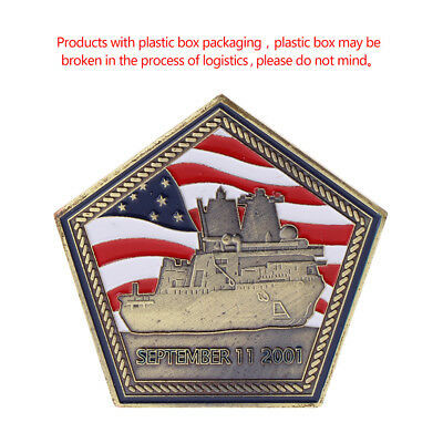 US American Submarine Pentagon Commemorative Coin Collection Arts Gifts Souvenir