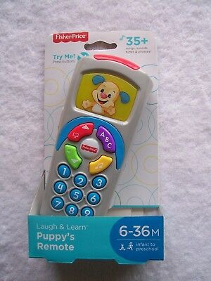 BNIB Fisher Price Laugh & Learn Puppy's Remote 6-36 Months