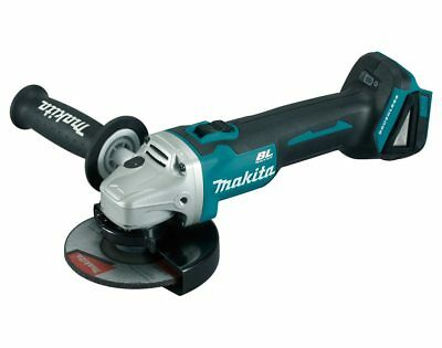 Makita 18V Lithium Ion Cordless Powerful Dc Brushless Angle Grinder Skin Only