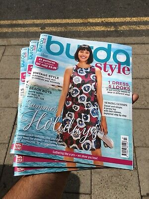 Burda Style Magazine Issue July 2018 Free 42 Patterns Summer Holidays Sewing Les