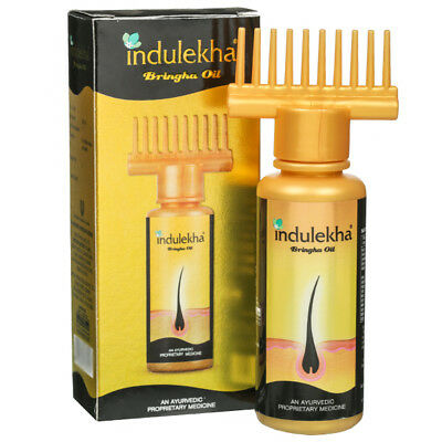 Indulekha Bringha Hair Oil Selfie Bottle 50 ml For Regrow Hair (100 % GENUINE)