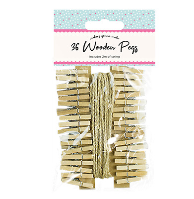Mini Wooden Pegs 50 Pack Tiny Small Craft Wedding Hanging Photo Small Clips Wood