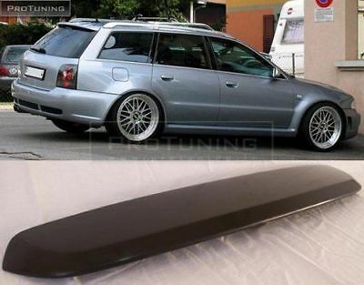 Trunk Spoiler For Audi A4 B5 Avant Estate Roof RS4 Look wing S4 Cover door