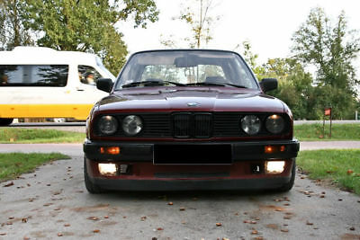 Apron for BMW E30 front bumper spoiler chin lip is skirt valance trim splitter