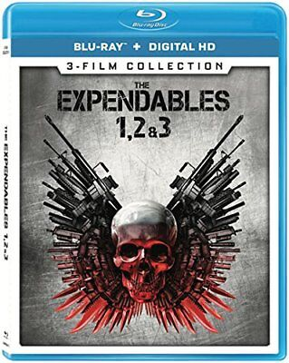 Expendables 1, 2, & 3 (Action & Adventure) (Blu-ray) FREE SHIPPING NEW