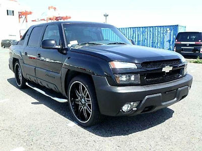Fresh Import Chevrolet Avalanche V8 Crew Cab Pickup Automatic Not Escalade F150