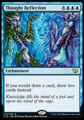 1x THOUGHT REFLECTION - Rare - Commander - MTG - NM - Magic the Gathering