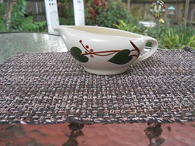 Blue Ridge Southern Potteries Stanhome Ivy Large Gravy Boat Or Cream Pitcher