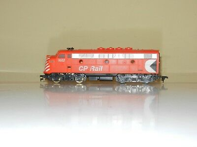 Cox Powered F7 Canadian Pacific Cp Rail Engine Locomotive Ho Scale Excellent