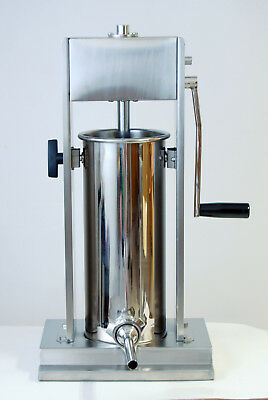 6L stainless steel vertical sausage stuffer / filler with 4 horns + spare gastet