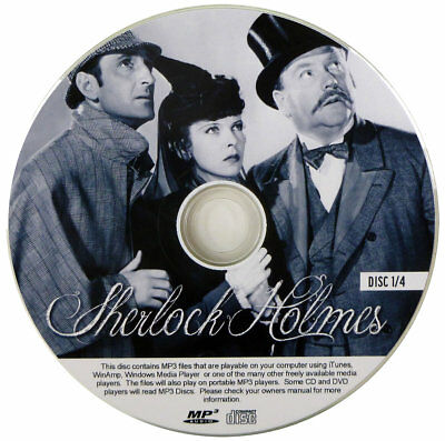 Sherlock Holmes - OTR - Old Radio - ENTIRE COLLECTION (324 Eps) ON  4 MP3 CDs