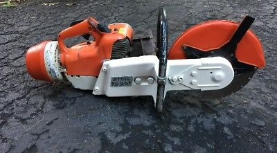 "Stihl TS-350 12"" Concrete Saw~Gas Powered..please Read Description"