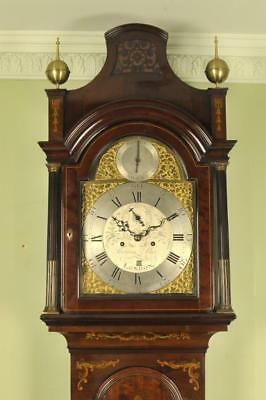 MAHOGANY LONGCASE GRANDFATHER CLOCK - Thomas Pace , London