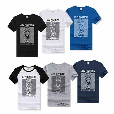 For Joy Division Unknown Pleasures - Mens Music T-Shirt Rock Band Tee Top
