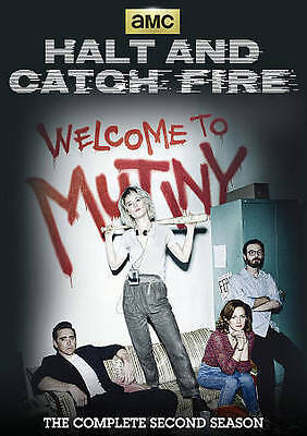 Halt and Catch Fire The Complete Second Season (DVD, 2016, 3-Disc Set)