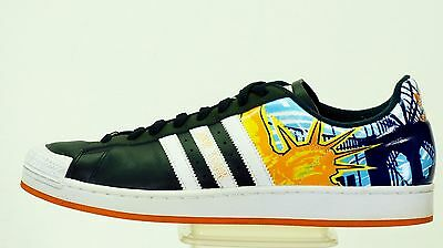 best sneakers e7de0 ebea4 Adidas Half Shell New York Nyc Shoe Men Size 14 Blue Black 562385 Statue  Liberty