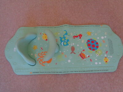 Mothercare Aqua Pod Baby Bath Mat With Seat Support