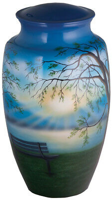 Lakeside Memories Cremation Urns for Ashes Hand Painted Adult