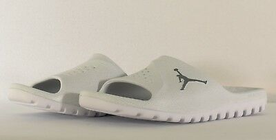 e7a853cca Jordan Men s Super Fly Team Slide 2 Platinum Cool Grey White (881572 003
