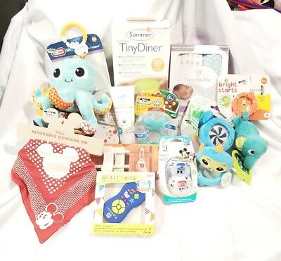 Lot Of Baby Items, 11 Items NWT, Retail $125
